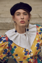 Modella: Viktoriia Khaliullova (26 Models) - Stylist: Stela Plaka - MUA: Bianca Marzocchi